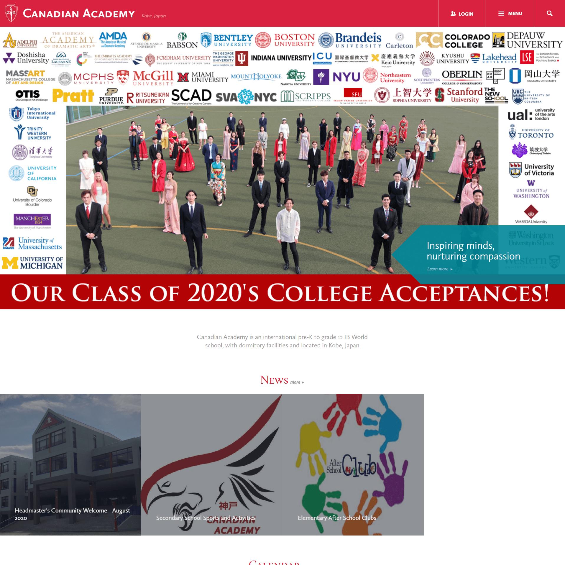 Canadian Academy(カネディアン アカデミイ)|神戸市東灘区